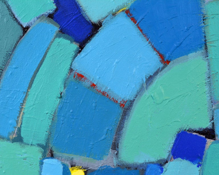 'Arrondissement' Contemporary Mid-Century Style Abstract by Lars Hegelund 8