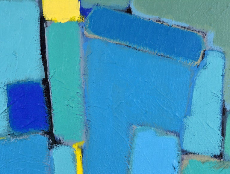 'Arrondissement' Contemporary Mid-Century Style Abstract by Lars Hegelund 9