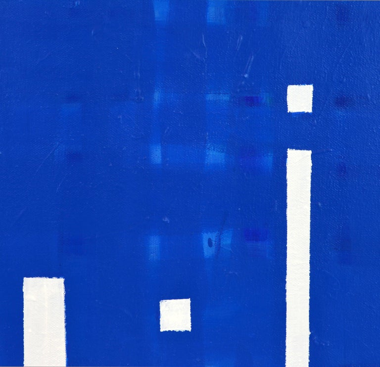 Minimalist 'Light's on' Contemporary Abstract by Lars Hegelund For Sale