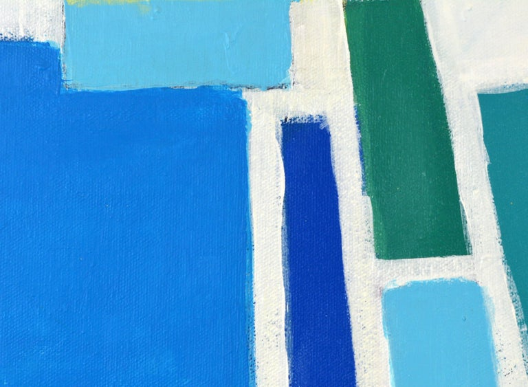 'Aegean Cruise' Contemporary Abstract by Lars Hegelund 10