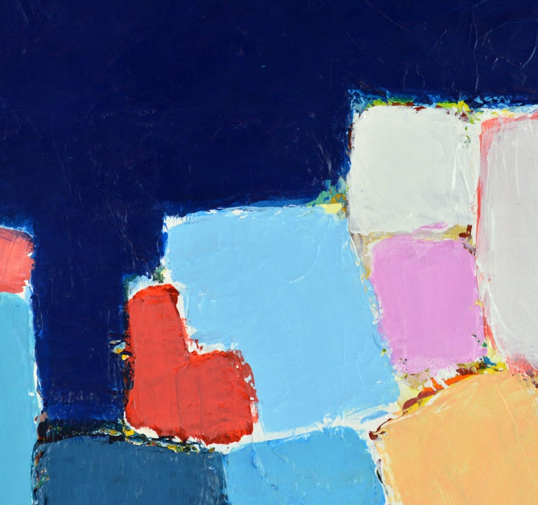 'L'heure Bleu, Cap Haitien' Contemporary Abstract by Lars Hegelund, American 3