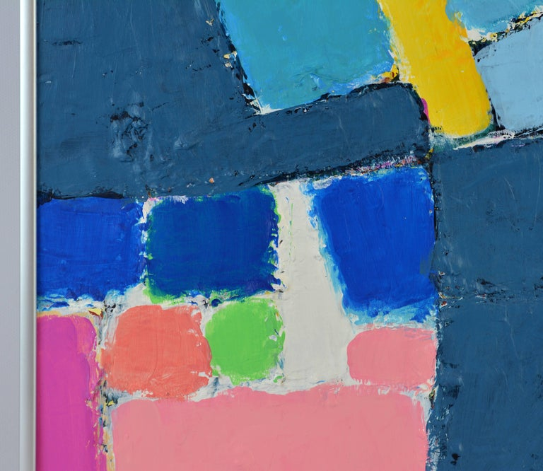 'L'heure Bleu, Cap Haitien' Contemporary Abstract by Lars Hegelund, American 5
