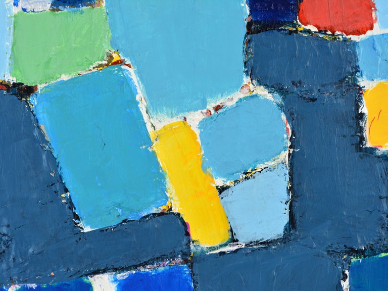 'L'heure Bleu, Cap Haitien' Contemporary Abstract by Lars Hegelund, American 6