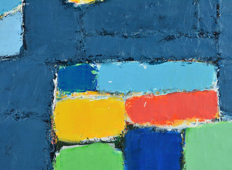 'L'heure Bleu, Cap Haitien' Contemporary Abstract by Lars Hegelund, American 4