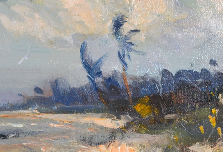 'Along the Gulf' Florida Impressionism by Robert C. Gruppe, American 3