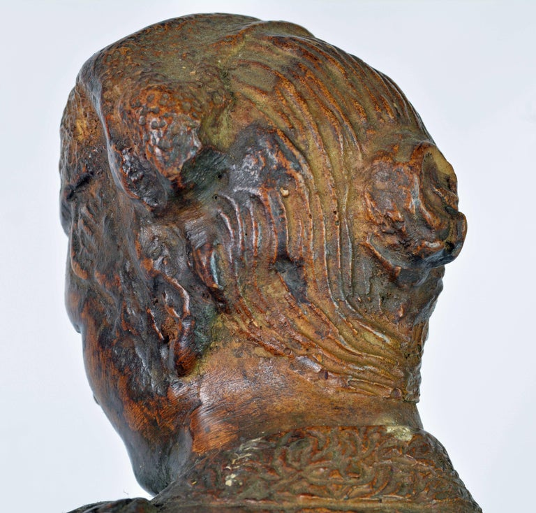 'El Cordobes' Large Patinated Terracotta Statue of the Legendary Spanish Matador For Sale 6