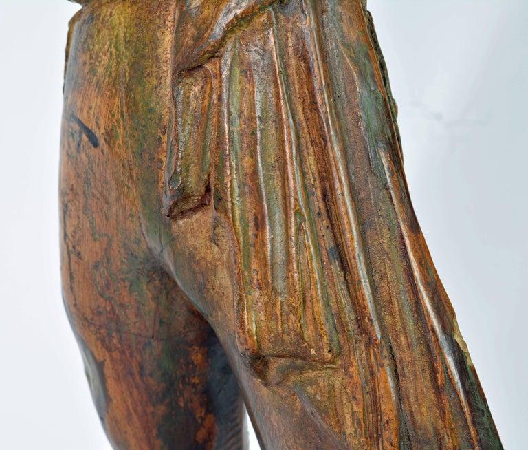 'El Cordobes' Large Patinated Terracotta Statue of the Legendary Spanish Matador For Sale 9