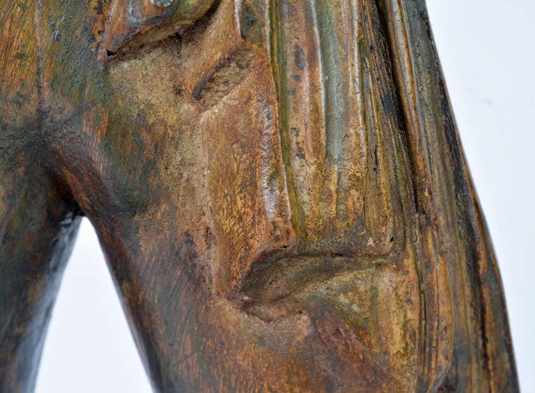 'El Cordobes' Large Patinated Terracotta Statue of the Legendary Spanish Matador For Sale 15