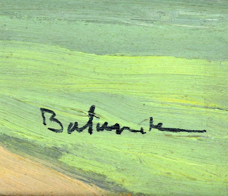 'Vue Plongeante sur le Port de Rouen' by Gaston Balande, Spain France, 1880-1971 For Sale 5