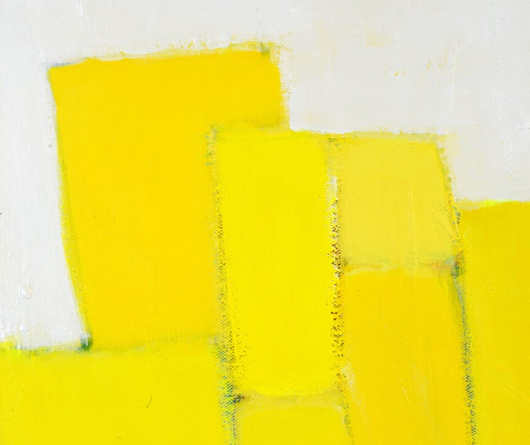 'Yellow Composition' Contemporary Abstract by Lars Hegelund, American 6