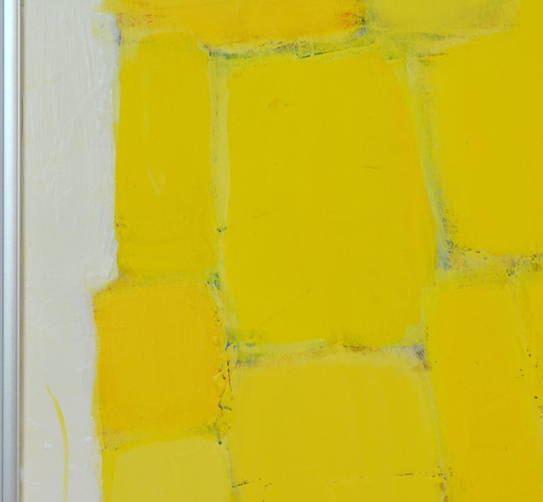 'Yellow Composition' Contemporary Abstract by Lars Hegelund, American 10