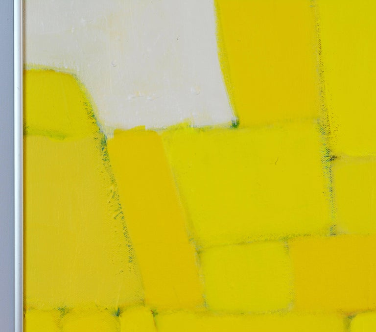 'Yellow Composition' Contemporary Abstract by Lars Hegelund, American 8