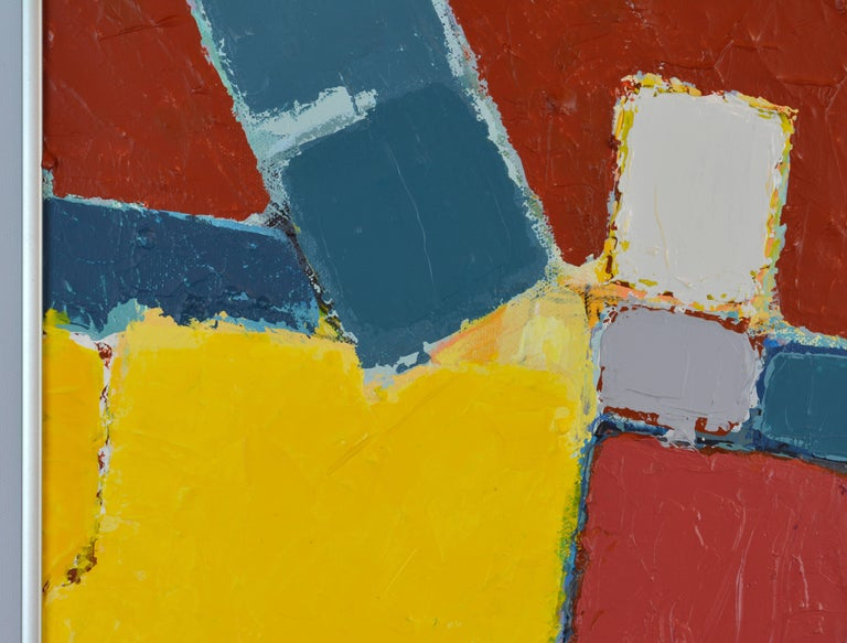 'Pompeian' Contemporary Urban Abstract by Lars Hegelund, American In Excellent Condition For Sale In Ft. Lauderdale, FL
