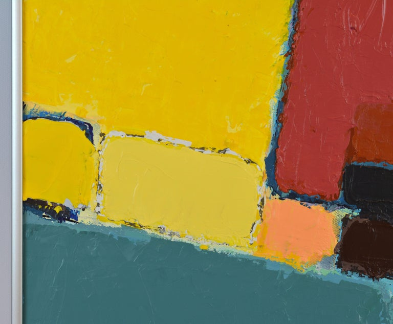 'Pompeian' Contemporary Urban Abstract by Lars Hegelund, American For Sale 4