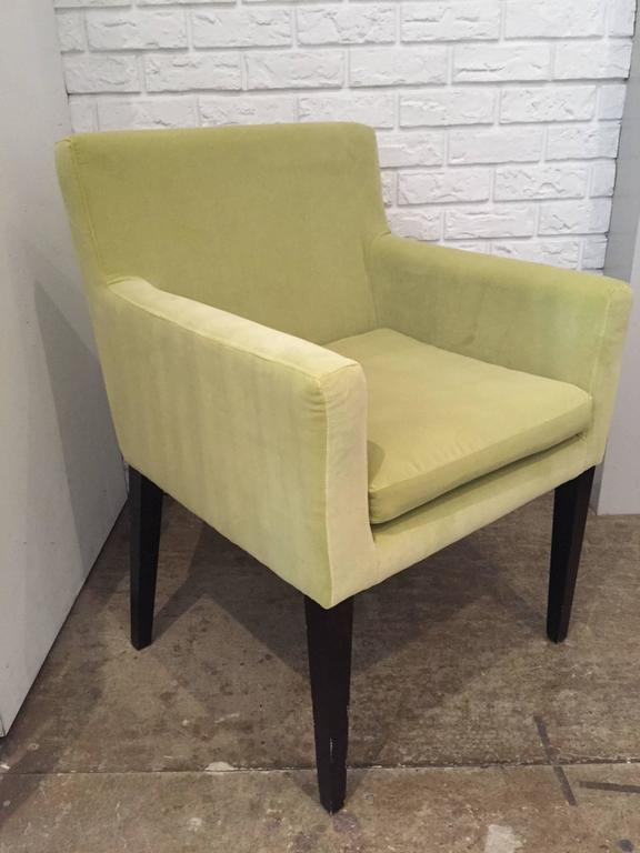 Mid-Century Modern Pair of Modern Armchairs For Sale