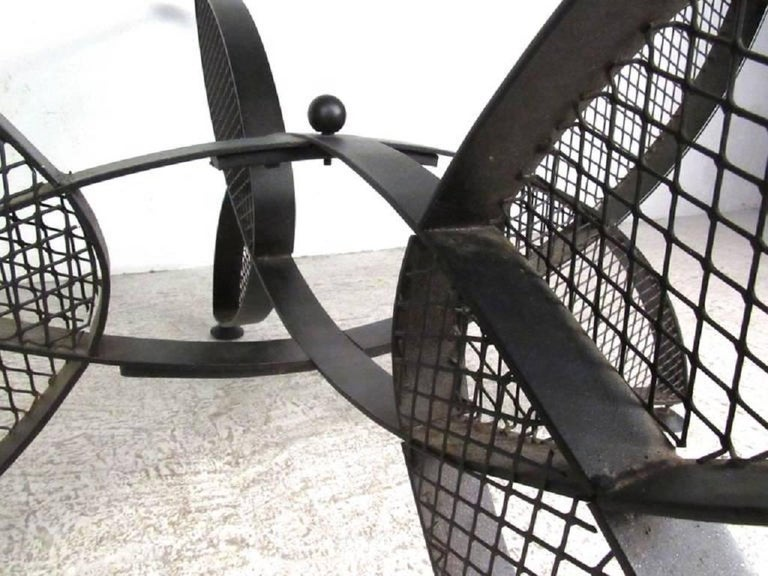 Mid-Century Modern Maurizio Tempestrini Butterfly Cocktail Table, Outdoor For Sale