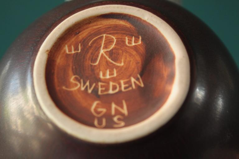 Swedish Small Ceramic Bowl by Gunnar Nylund for Rörstrand For Sale