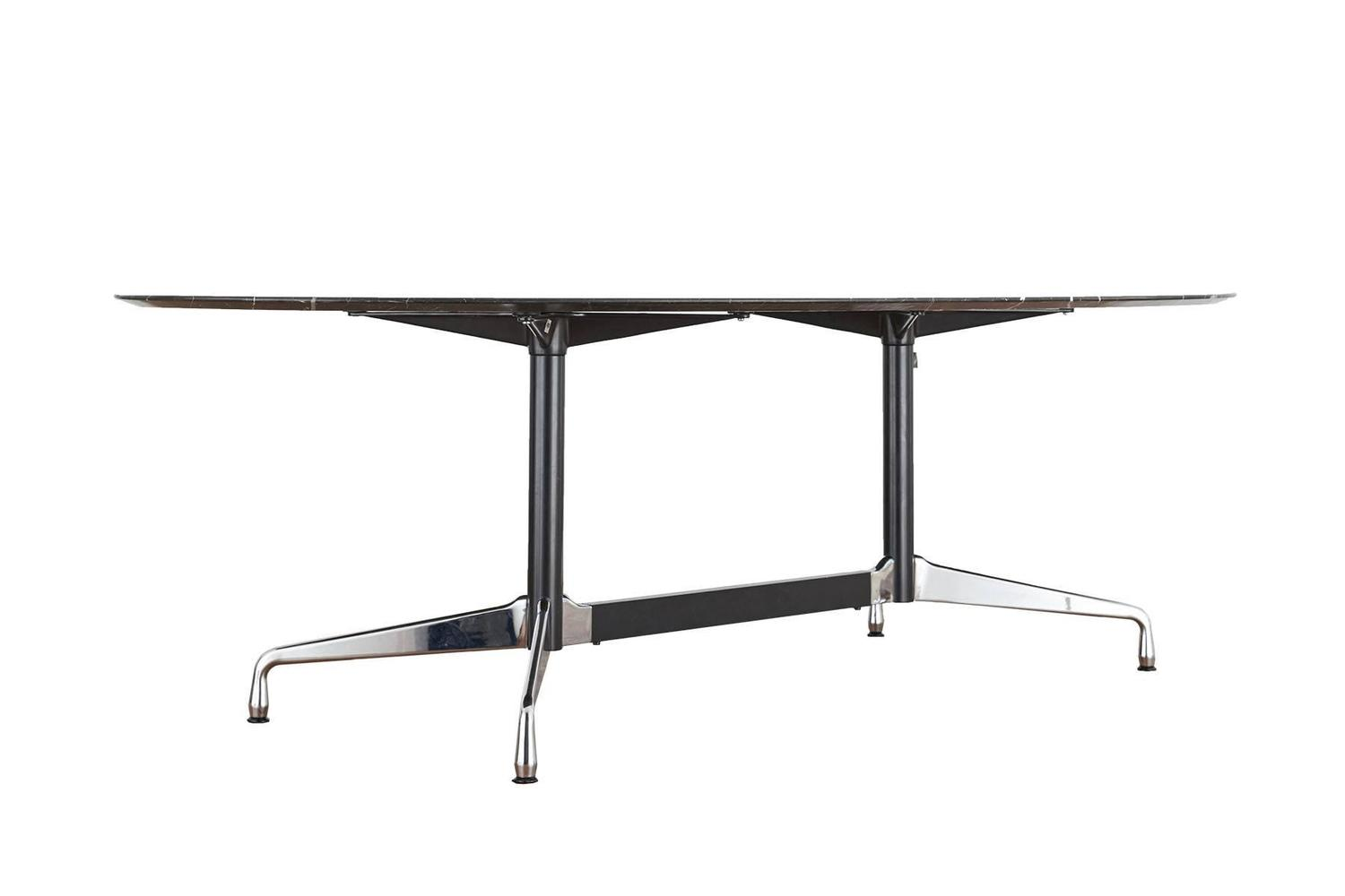 Segmented Black Marble Table by Charles and Ray Eames for  : marmortisch04z from www.1stdibs.com size 1500 x 1000 jpeg 27kB