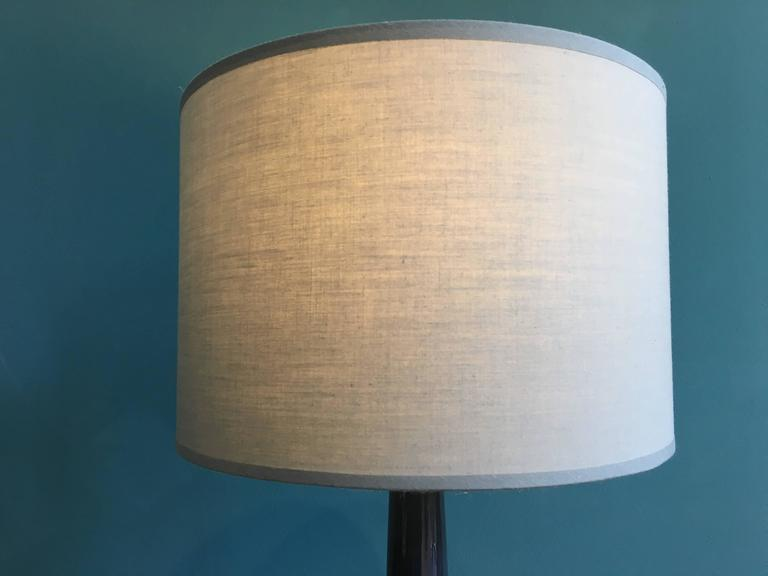 Vintage Danish Ceramic Table Lamp by Soholm, 1960s For Sale 3