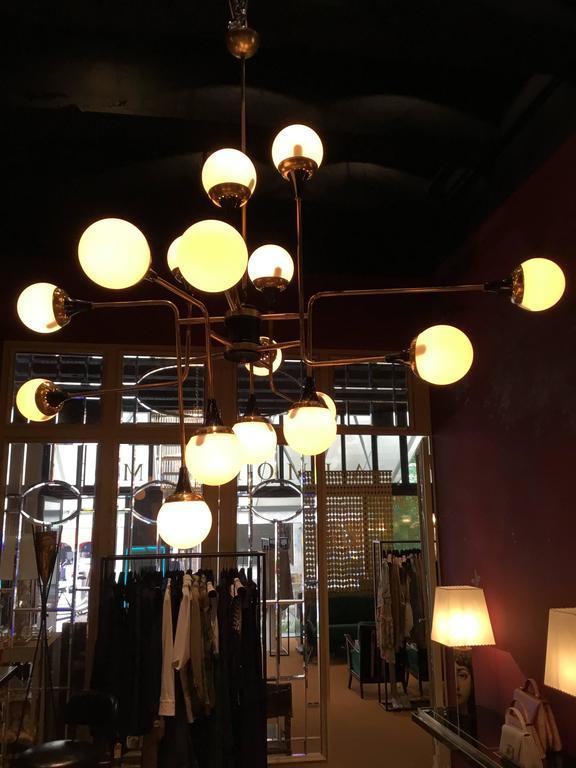 Stilnovo Ceiling Lamp, Italy, 1950s For Sale 1