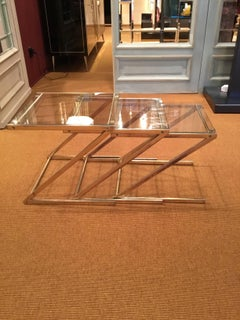 Set of 3 vintage coffee tables.