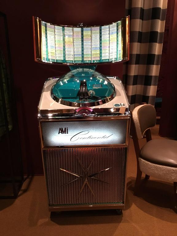 Mid-20th Century Jukebox, Ami Continental, 1960, Musicbox For Sale