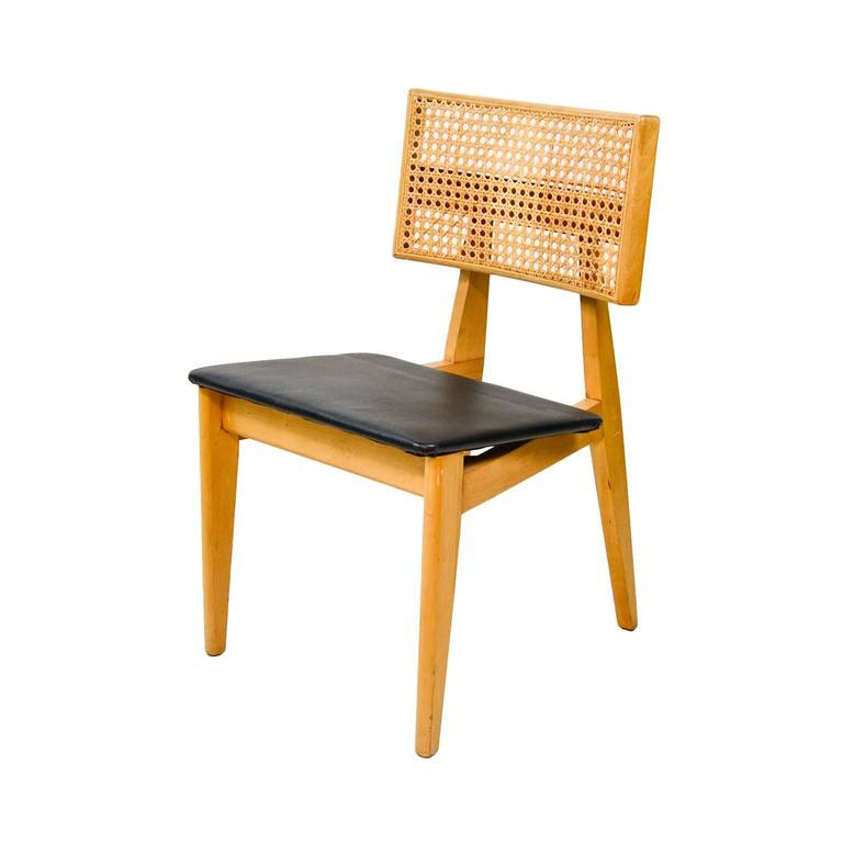 1940s Cane Back Side Chair By George Nelson For Herman Miller 3