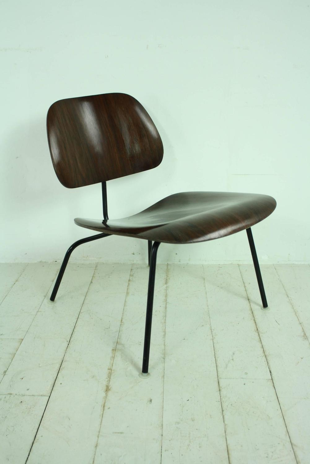 Vintage limited production rosewood 1960s eames herman miller lcm chair at 1s - Vintage herman miller ...