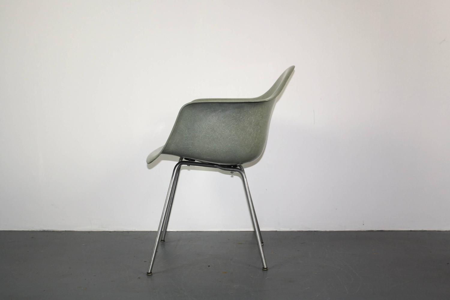 All Original Eames For Herman Miller Lax Chair In Seafoam