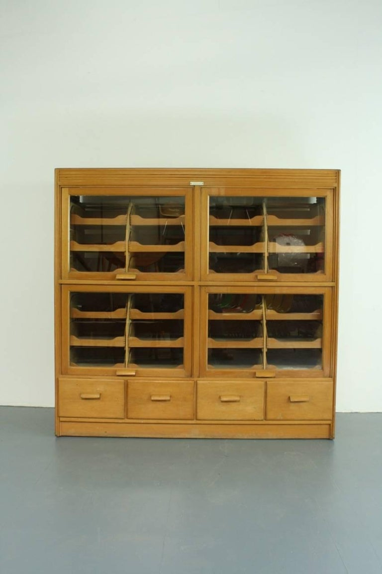 Vintage 28 drawer british haberdashery cabinet for sale at for Kitchen drawers for sale
