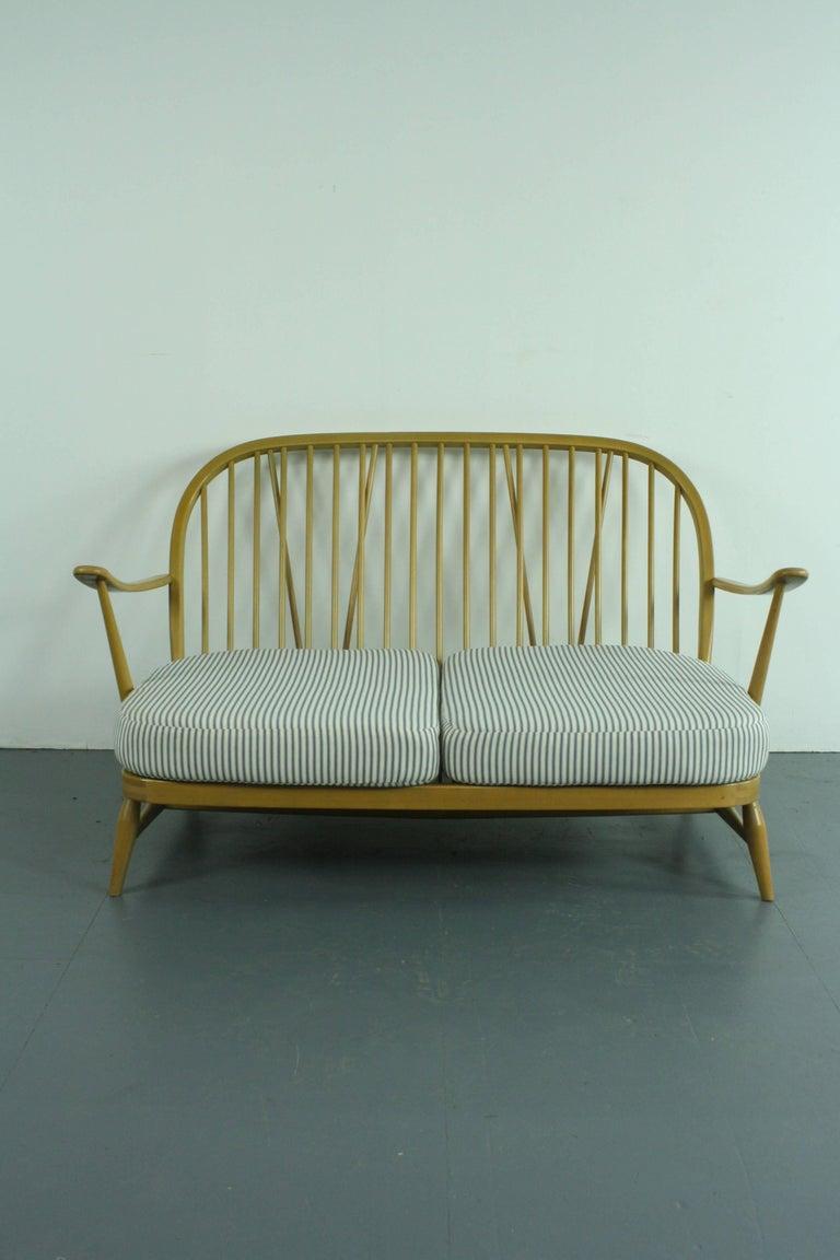 Refurbished Vintage Ercol Windsor Two Seat Sofa