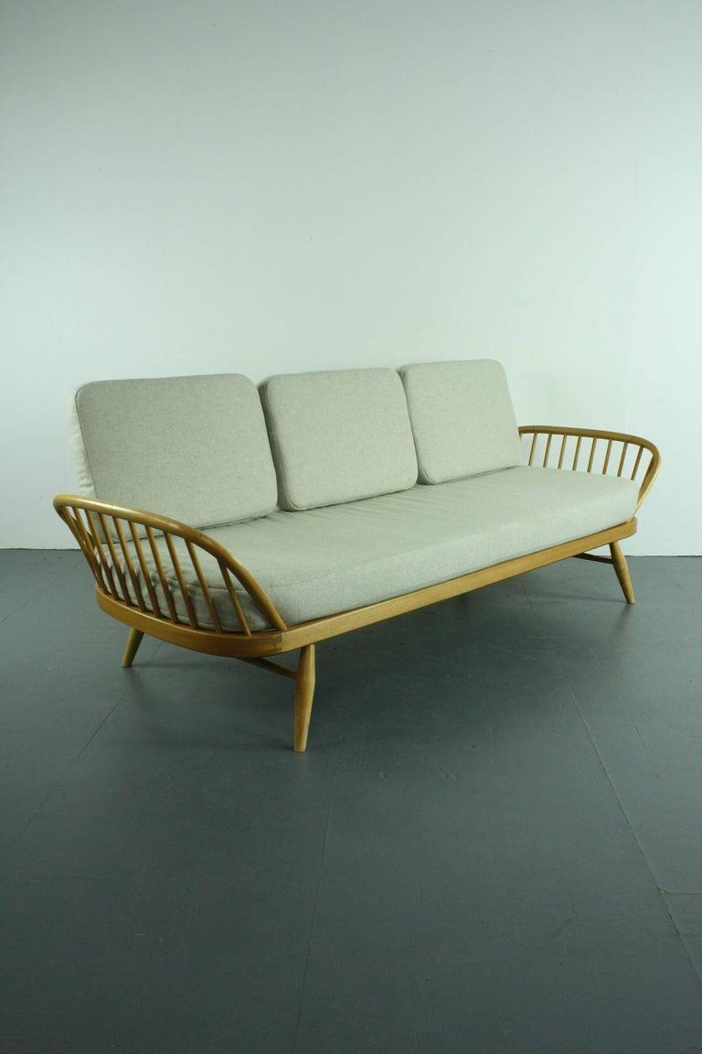 Vintage Midcentury British Ercol 355 Studio Couch Or Sofa