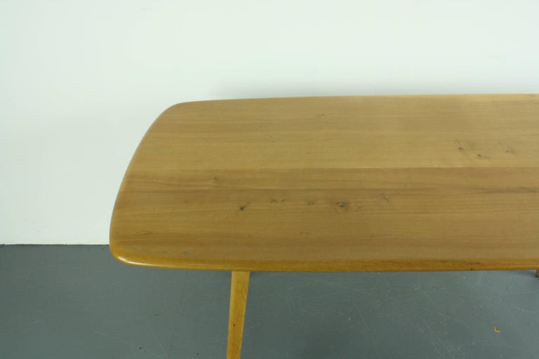 Vintage Midcentury British Ercol Plank Dining Table For  : IMG0171master from www.1stdibs.com size 768 x 512 jpeg 23kB