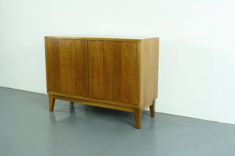 Vintage mid century credenza in beech made by wk mobel for sale at 1stdibs - Mid century mobel ...