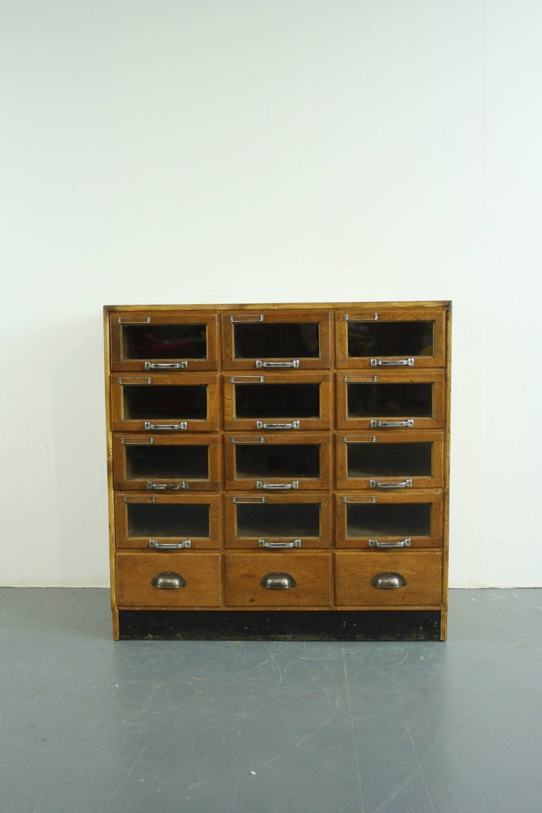 Vintage 15 Drawer Haberdashery Cabinet For Sale At 1stdibs