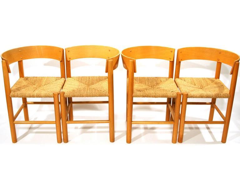 Mogens Lassen Set of Furniture for Fritz Hansen, Denmark 2