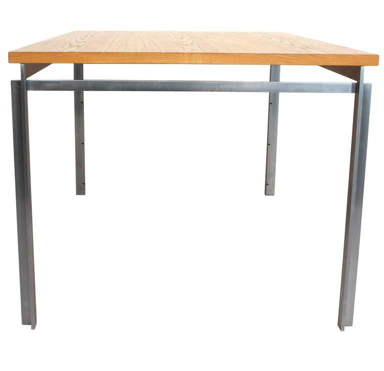 Work Table Desk, Poul Kjaerholm PK 53 For Sale