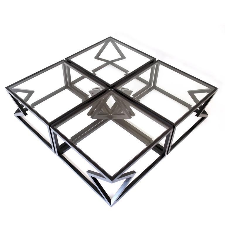 Beveled Contemporary Steel