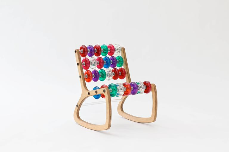 Razor Rocker Children's Rocking Chair by Philip Caggiano 6