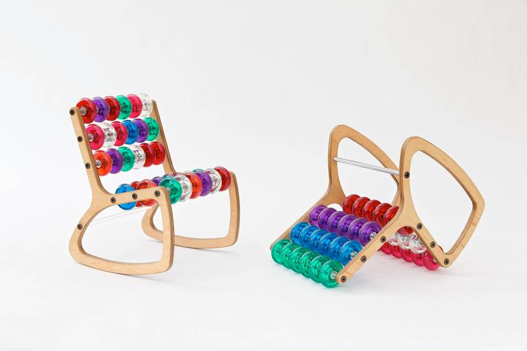 Razor Rocker Children's Rocking Chair by Philip Caggiano 5