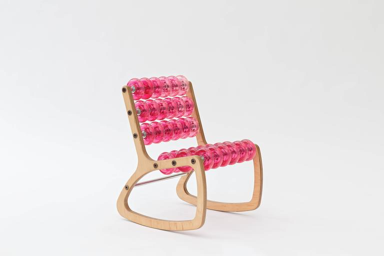 Razor Rocker Children's Rocking Chair by Philip Caggiano 8