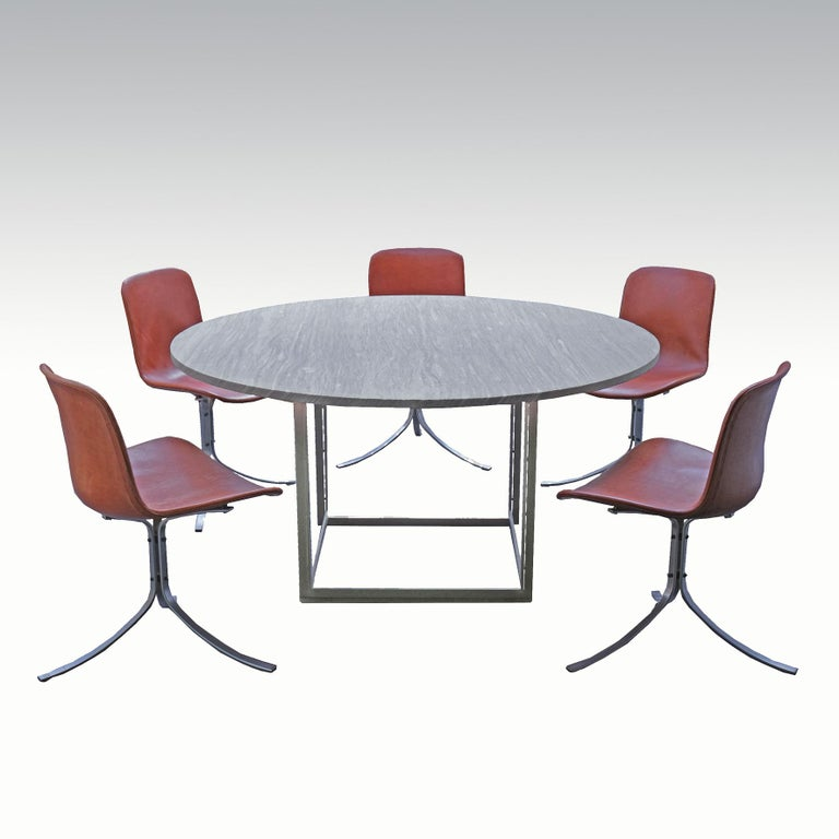 Mid-20th Century Poul Kjaerholm, Set of Twelve PK9 Chairs, circa 1960 For Sale