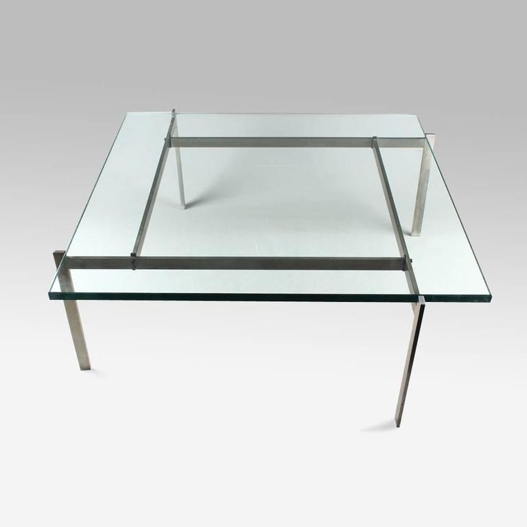 Poul Kjaerholm PK61 Coffee Table, 20th Century For Sale at