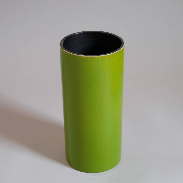 "Georges Jouve, a Great ""Cylinder"" Vase, circa 1960 3"