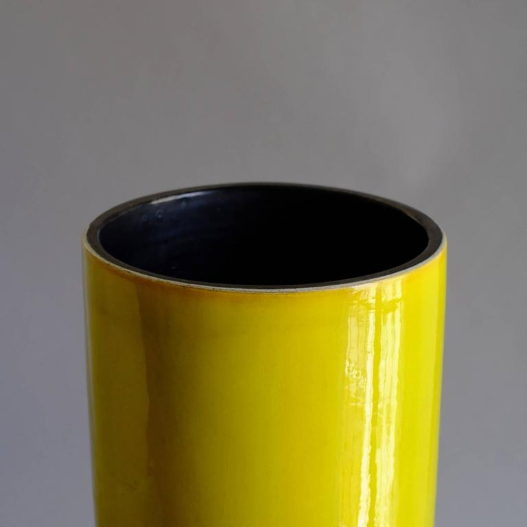"""Georges Jouve, a Rare Great """"Cylinder"""" Vase, circa 1960 4"""