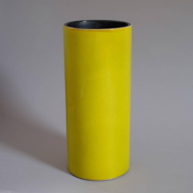 """Georges Jouve, a Rare Great """"Cylinder"""" Vase, circa 1960 5"""