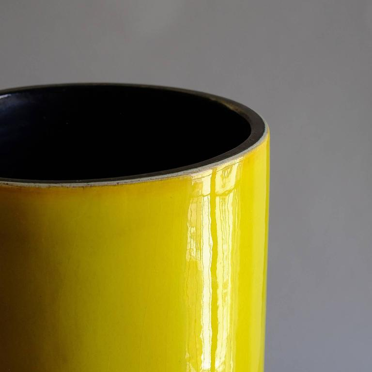 """Georges Jouve, a Rare Great """"Cylinder"""" Vase, circa 1960 6"""