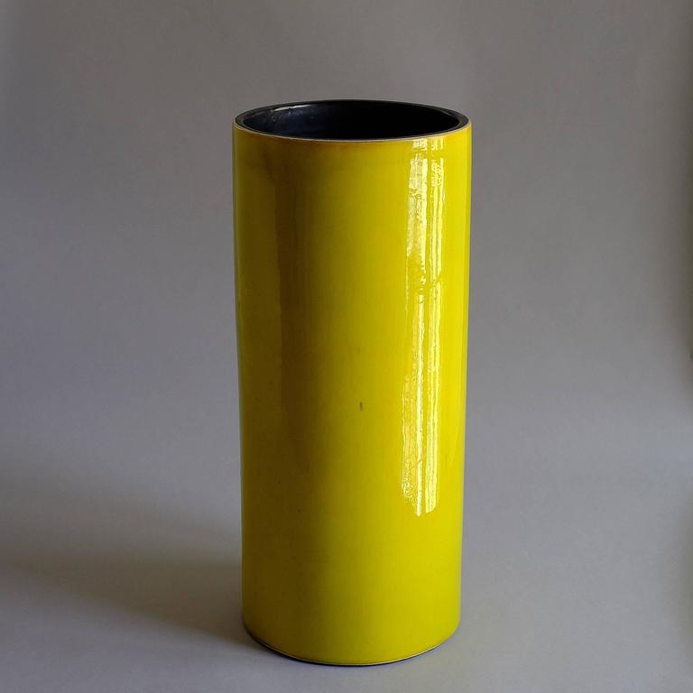 """Georges Jouve, a Rare Great """"Cylinder"""" Vase, circa 1960 8"""