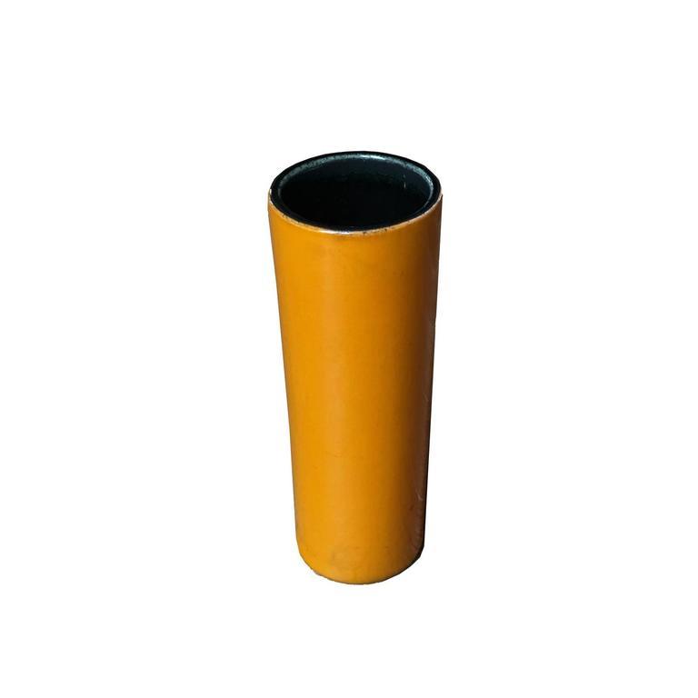 "Georges Jouve, an Orange ""Cylinder"" Vase, circa 1960 2"