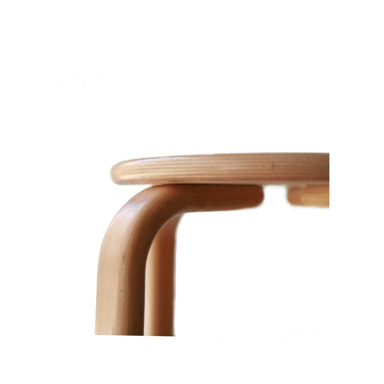 Four Alvar Aalto Style Stools For Sale At 1stdibs